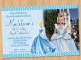 Personalized Cinderella Birthday Invitations Cinderella Invitation Printable Cinderella Birthday