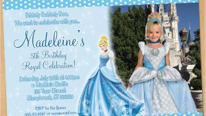 Personalized Cinderella Birthday Invitations Cinderella Invitation Printable Cinderella Birthday