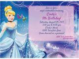 Personalized Cinderella Birthday Invitations Cinderella Personalized Invitation Cheap Personalized