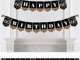 Personalized Happy Birthday Banner Walmart Adult 60th Birthday Gold Birthday Party Bunting Banner