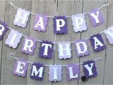 Personalized Happy Birthday Banners Happy Birthday Banner Birthday Banner Personalized Name