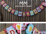 Personalized Happy Birthday Banners Items Similar to Custom Happy Birthday Banner