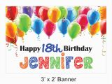 Personalized Happy Birthday Banners Online Happy Birthday Banner Personalized Colorful by Coopssignshop
