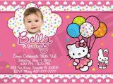 Personalized Hello Kitty Birthday Invitations Free Printable Hello Kitty Birthday Party Invitations