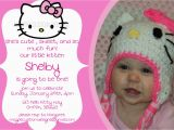 Personalized Hello Kitty Birthday Invitations Printable Personalized Hello Kitty Birthday Invitation