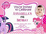 Personalized Invites for Birthday My Little Pony Personalized Birthday Invitations Best