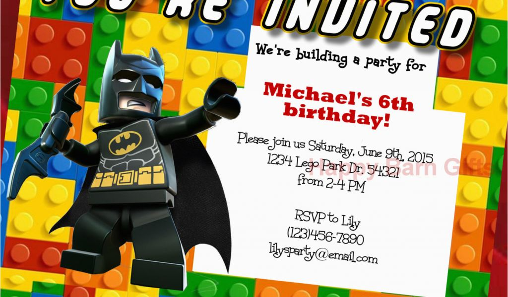 Download By SizeHandphone Tablet Desktop Original Size Back To Personalized Lego Birthday Invitations