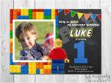 Personalized Lego Birthday Invitations Lego Birthday Invitation Personalized Digital by