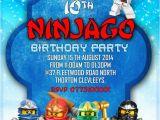 Personalized Lego Birthday Invitations Personalized Birthday Party Invitations Lego Ninjago 8