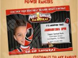 Personalized Power Rangers Birthday Invitations 46 Best Images About Power Rangers Birthday Party Ideas On