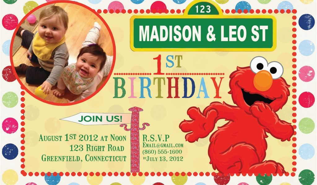 Download By SizeHandphone Tablet Desktop Original Size Back To Personalized Sesame Street Birthday Invitations