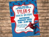 Personalized Spiderman Birthday Invitations 17 Best Ideas About Spider Man Party On Pinterest Spider