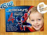 Personalized Spiderman Birthday Invitations Personalized Amazing Spiderman Invitation Digital by