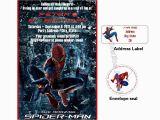 Personalized Spiderman Birthday Invitations Spiderman Birthday Custom Invitations by Luvcelebrationpatrol