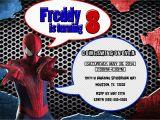Personalized Spiderman Birthday Invitations Spiderman Birthday Invitations Kustom Kreations