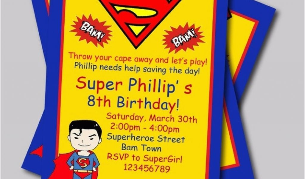 Download By SizeHandphone Tablet Desktop Original Size Back To Personalized Superman Birthday Invitations