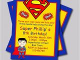 Personalized Superman Birthday Invitations 20 Pcs Lot Personalized Superman Birthday Invitations Kids