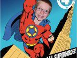 Personalized Superman Birthday Invitations Superhero Invitation Personalized with Your Photo Digital