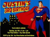 Personalized Superman Birthday Invitations Superman Birthday Party Invitations Personalized Custom