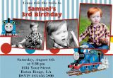 Personalized Thomas the Train Birthday Invitations Items Similar to Custom Thomas Train Invitation Thomas