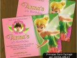 Personalized Tinkerbell Birthday Invitations Personalized Tinkerbell Birthday Invitations Hnc