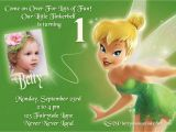Personalized Tinkerbell Birthday Invitations Tinkerbell Printable Invitation Personalized Tinkerbell