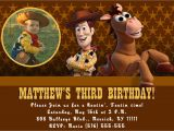 Personalized toy Story Birthday Invitations Custom Photo Invitations toy Story Birthday Invitation You