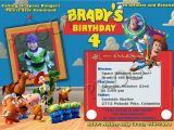 Personalized toy Story Birthday Invitations Free Personalized toy Story Birthday Invitations Template