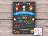 Personalized toy Story Birthday Invitations Personalized toy Story Birthday Party Invitation Digital