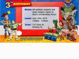Personalized toy Story Birthday Invitations Quot toy Story Invitation Custom Personalized Birthday Party Quot