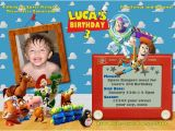 Personalized toy Story Birthday Invitations toy Story Birthday Party Invitation Ideas Bagvania Free