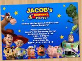 Personalized toy Story Birthday Invitations toy Story Invitation toy Story Invite Custom Personalized