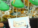 Peter Pan Birthday Decorations Kara 39 S Party Ideas Peter Pan themed Birthday Party