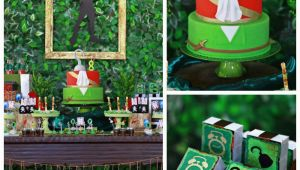 Peter Pan Birthday Decorations Kara 39 S Party Ideas Peter Pan themed Birthday Party Via
