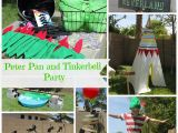 Peter Pan Birthday Decorations Peter Pan and Tinkerbell Party Classy Clutter