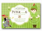 Peter Pan Birthday Party Invitations Free Printable Peter Pan Birthday Party Invitations