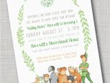 Peter Pan Birthday Party Invitations Peter Pan and the Lost Boys Invitation Never Growing Up