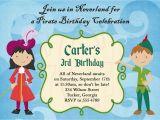 Peter Pan Birthday Party Invitations Peter Pan Birthday Invitations Best Party Ideas