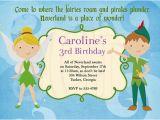 Peter Pan Birthday Party Invitations Peter Pan Birthday Party Invitation Ideas Bagvania Free