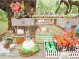 Peter Rabbit Birthday Decorations Dessert Table A Birthday Garden Party Starring Peter