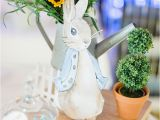 Peter Rabbit Birthday Decorations Kara 39 S Party Ideas Rabbit themed 1st Birthday Party Kara