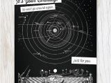 Physics Birthday Card It 39 S Your Birthday Vintage astronomy Card Cognitive Surplus