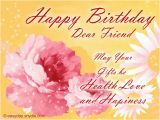 Pictures Of Birthday Cards for A Friend Birthday Wishes for Friend Easyday