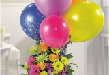 Pictures Of Birthday Flowers and Balloons Birthday Flowers Ideas with Colorful Balloons Png 1 Comment