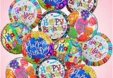 Pictures Of Birthday Flowers and Balloons Birthday Mylar Balloon Bouquet Kremp Com