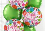 Pictures Of Birthday Flowers and Balloons Happy Birthday Balloon Bouquet