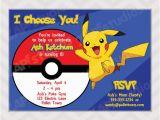 Pikachu Birthday Invitations Pokemon Pikachu Invitation Pokemon Birthday Party by Zapparty