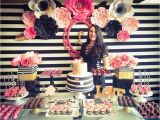 Pink 30th Birthday Decorations Black White Pink and A Little Golden Birthday Quot My