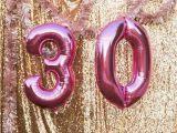 Pink 30th Birthday Decorations Kara 39 S Party Ideas Sparkly 30th Birthday Bash Kara 39 S