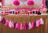 Pink 40th Birthday Decorations Create Cook Capture Diva Pink Gold 40th Birthday Party
